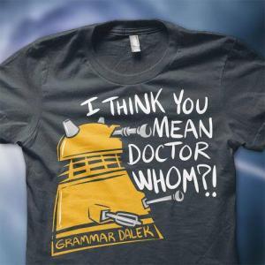 Doctor Whom - Grammar Dalek